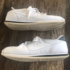 Nike Cortez White Leather Mens Size 10.5